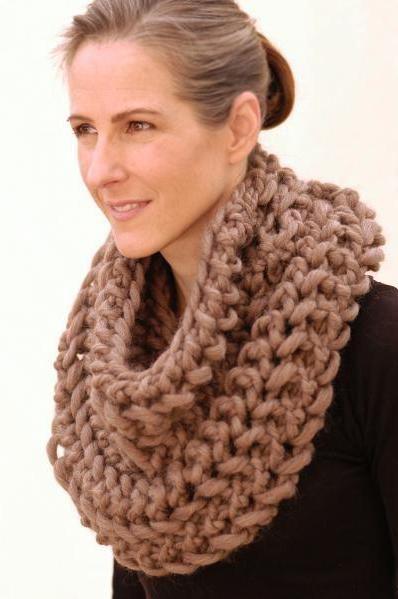 pletenje pletenih šalova