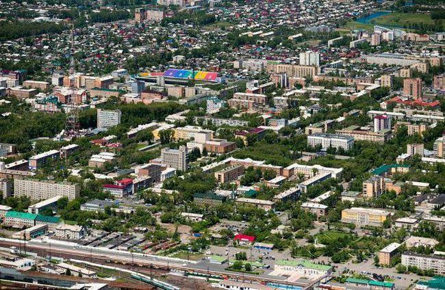 glavnom gradu Khakassia
