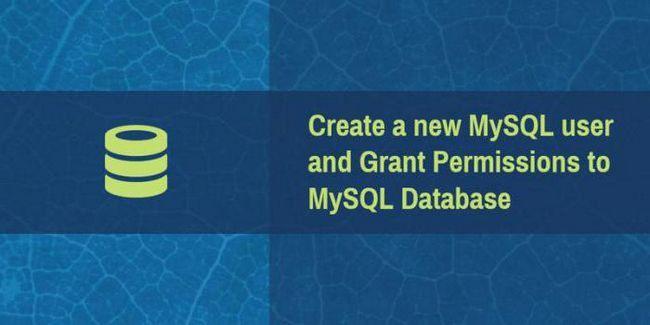 Administracija MySQL-a: kako stvoriti korisnika i odrediti svoja prava