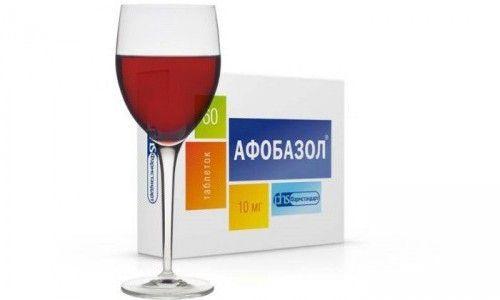 Je li moguće uzimati afobazol alkoholom