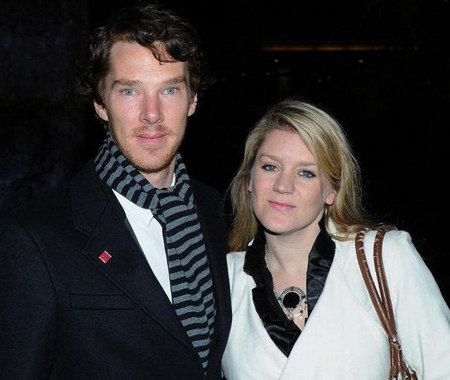 Olivia Poulet i Benedict Cumberbatch