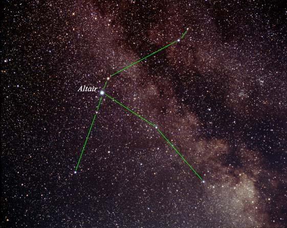 Альтаир - звезда, герой легенд и объект исследования