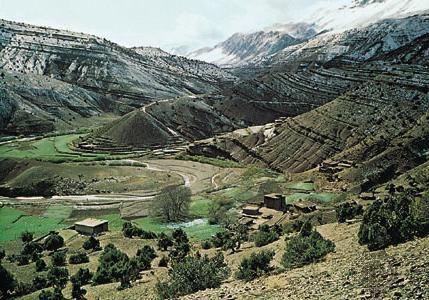 Atlasove planine - zasebna planinska zemlja