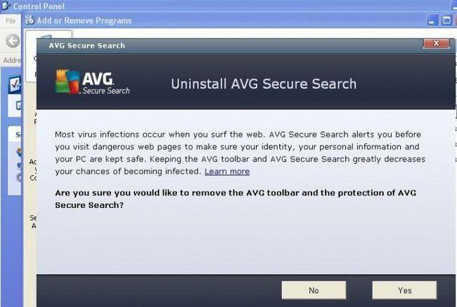 AVG Security Toolbar: что это и как удалить?