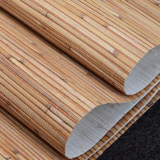 Bambus tapeta u unutrašnjosti: fotografija, kako lijepiti?