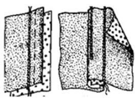 Бельевой шов (как шить): мастер-класс