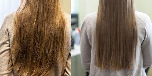 laminiranje kose u salonu