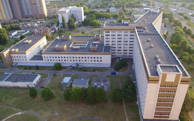 Adrese bolnica u Kijevu u Solomensky okrugu
