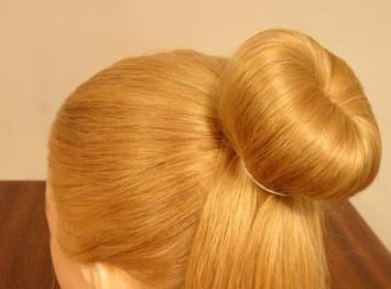 frizure s bagelom za kosu