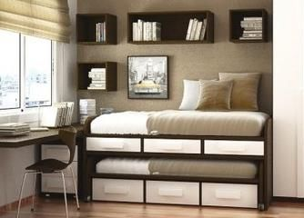 Klizni krevet za dvoje djece