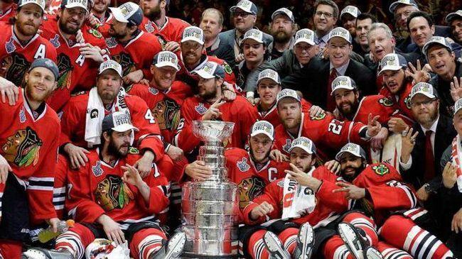 hokej klub Chicago Chicago blackhawks