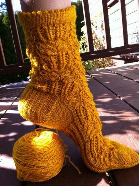 pletu dva pletena čarapa