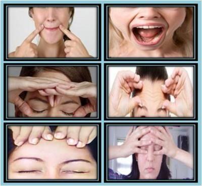 gimnastika za recenzije lica