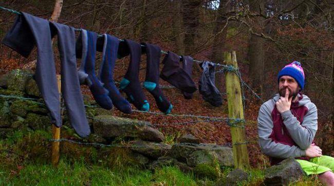 pregleda vodootpornih čarapa