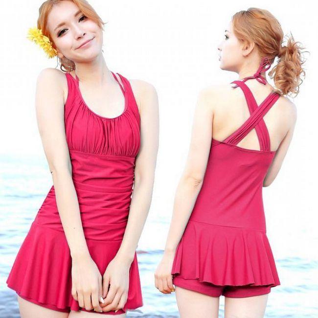 купальные платья