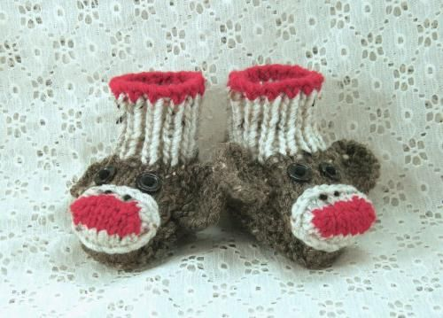 plesti čarape za novorođenče
