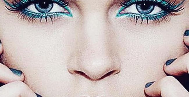 Obojena maskara za smeđe oči