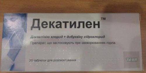 dekacilarnim uputama za uporabu