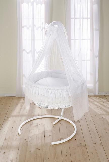 Okrugli krevetići za novorođenčad fotografije