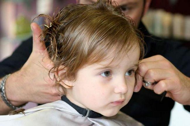 dječja frizura
