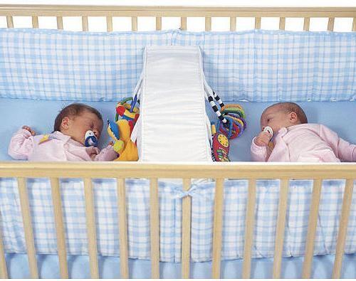 Dječji krevetići za blizance.