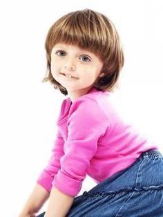 dječje frizure za kratku kosu