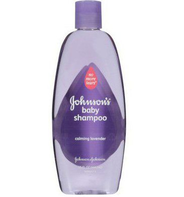 Šampon Johnson baby prije razgovora o spavanju