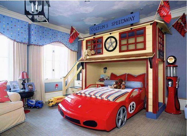dječja soba za dječakovu fotografiju