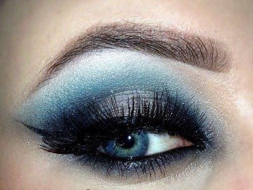 šminka za sjenke plavih očiju