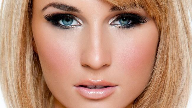plave, ledene plave oči
