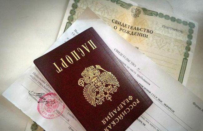 dokumente za registraciju u mjestu prebivališta