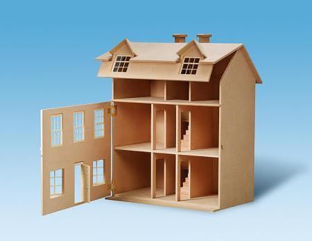 kako napraviti kuću za lutke