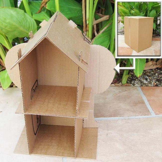 papirna kuća za lutke