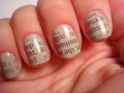 manikura ideja za kratke nokte