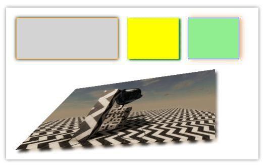 Primjeri jednostavnih CSS sjena