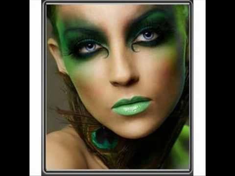 kreativni make-up