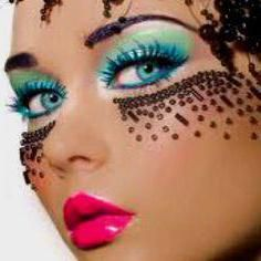 fantasy kreativni make-up