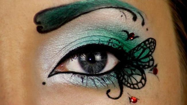 kreativna make-up fotografija