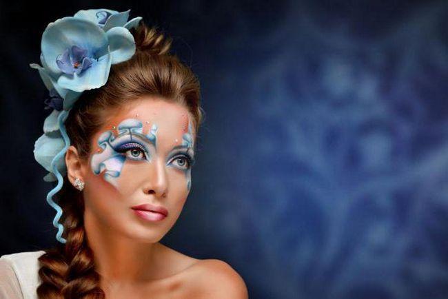 kreativni make-up za fotografiranje