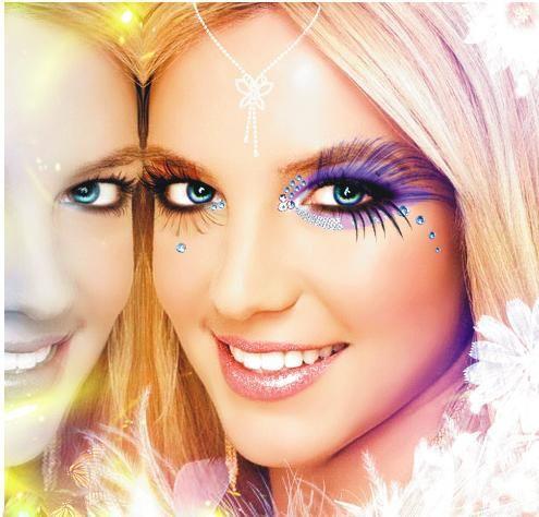 fantazija make-up fotografija