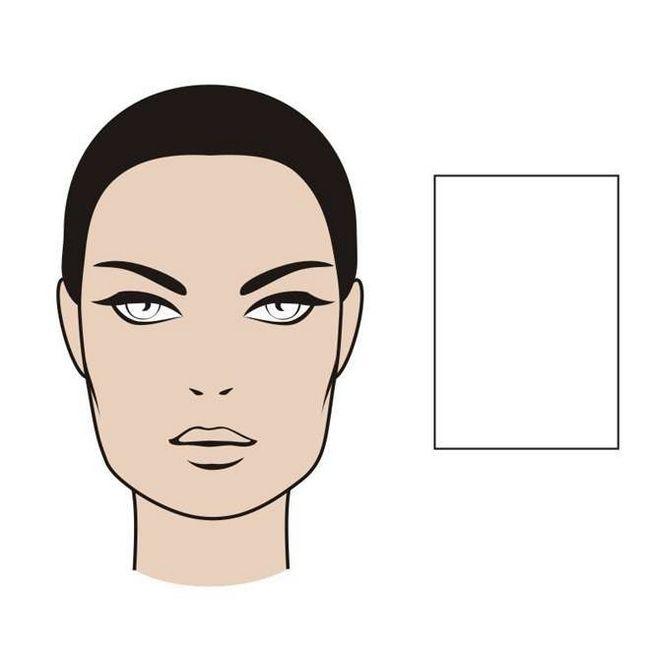 pravokutnog lica