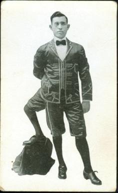 Франческо Лентини, человек с тремя ногами (фото)