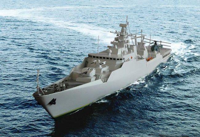 Фрегат `Адмирал Касатонов` (фото)