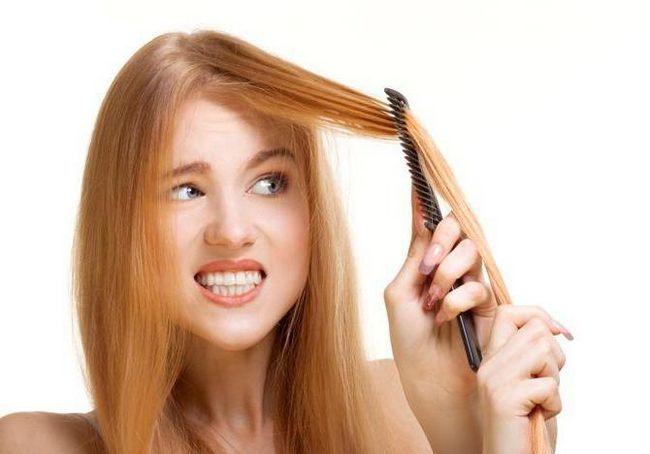 rezanje kose s vrućim škarama