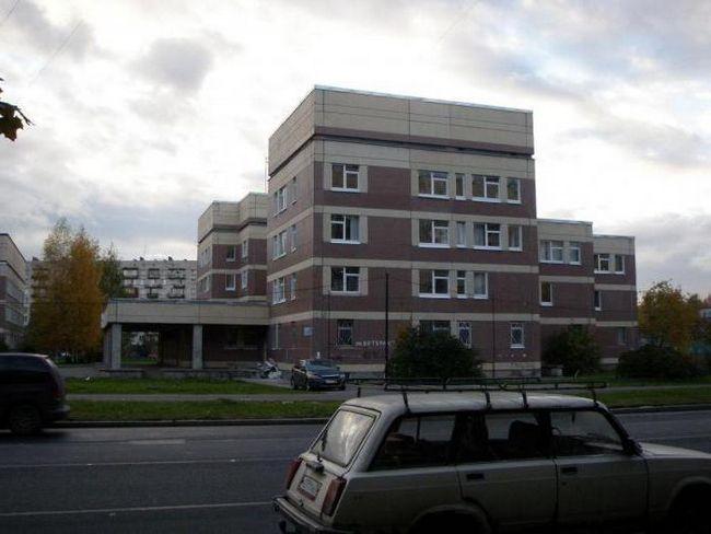 Poliklinika za djecu 57 Kirov distrikt spb
