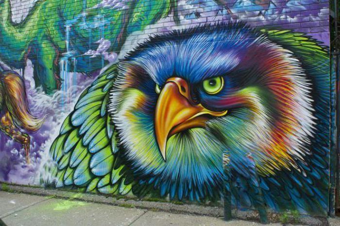 umjetnički grafit je
