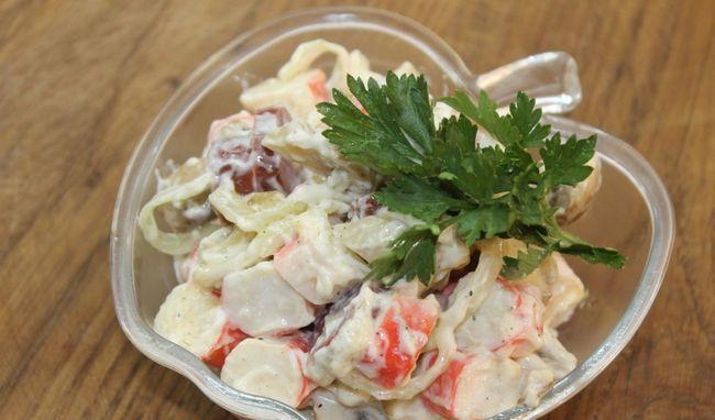 salata s rakovima