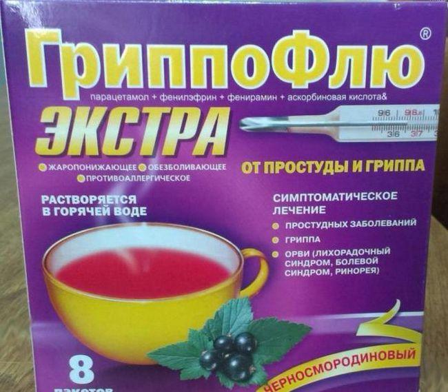 Grippoflu prah