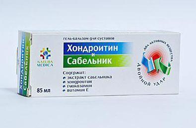 upute za upotrebu za kondroitin gel