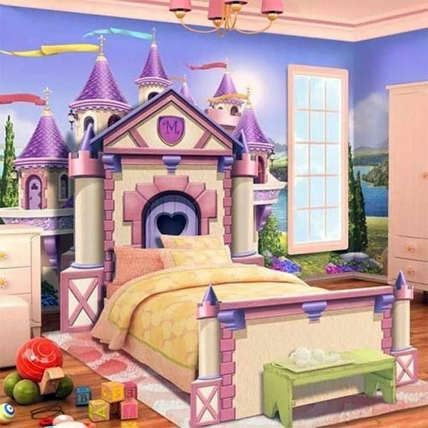 Ideje dječje sobe za djevojčice